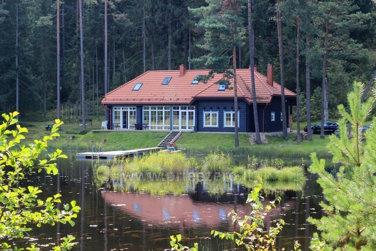 Ilsėkitės gamtoje ir vasarą, ir žiemą! Apartamentai ir nameliai Saulės slėnis - 1