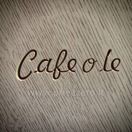 Café o lé - kavinė išskirtinėje vietoje Jūsų šventėms: vestuvėms, gimtadieniui, seminarui... - 1