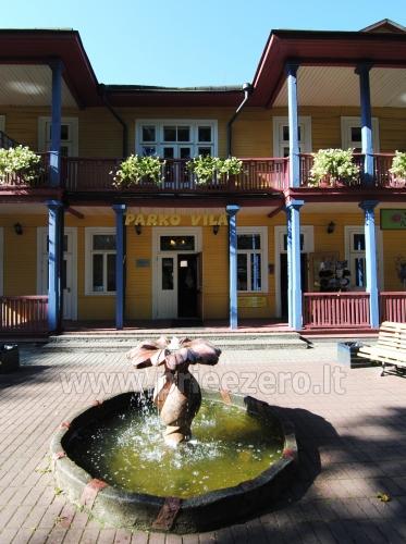 Konferencijų salė, kavinė svečių namuose Parko vila Druskininkų centre - 8