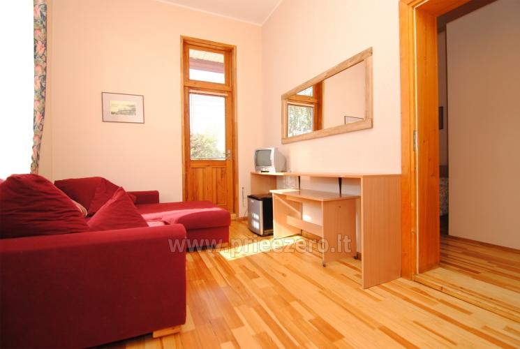 Konferencijų salė, kavinė svečių namuose Parko vila Druskininkų centre - 12