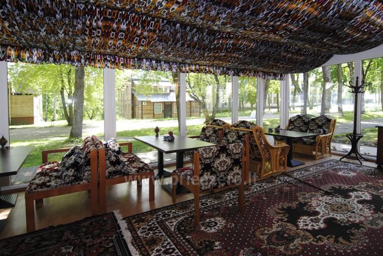 Konferencijų salė, kavinė svečių namuose Parko vila Druskininkų centre - 6