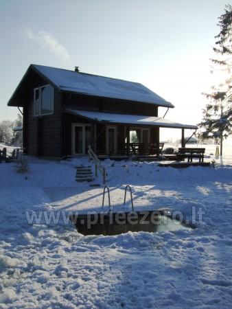 Pirtis, futbolo aikštelė, tinklinis, žvejyba sodyboje Kliukai Molėtų rajone - 6