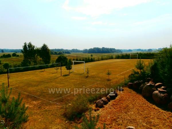 Pirtis, futbolo aikštelė, tinklinis, žvejyba sodyboje Kliukai Molėtų rajone - 30