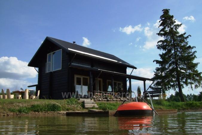 Pirtis, futbolo aikštelė, tinklinis, žvejyba sodyboje Kliukai Molėtų rajone - 31