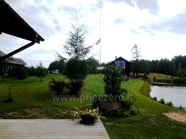 Pirtis, futbolo aikštelė, tinklinis, žvejyba sodyboje Kliukai Molėtų rajone - 36