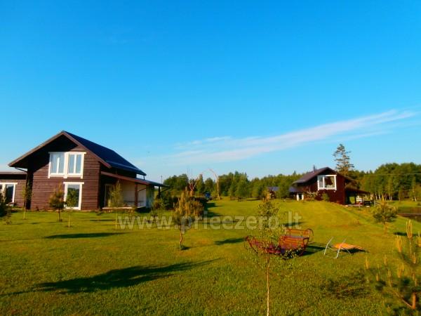 Pirtis, futbolo aikštelė, tinklinis, žvejyba sodyboje Kliukai Molėtų rajone - 42