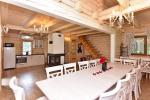 Pagrindinis rąstinis namas su virtuve - 2