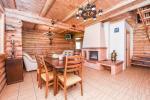 Rąstinis svečių namas su virtuve - 15