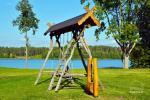 Sodybos aplinka: teritorija, ežeras, lieptas, tinklinio aikštelė, stalo tenisas - 6