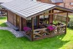 Dviejų kambarių nameliai su terasomis 4 asmenims - 2