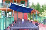 13 vietų namas: svetainė-valgomasis, virtuvė, 5 miegamieji, terasa, balkonai, dušas, WC - 14