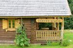 """6 vietų rąstinis namelis su terasa """"Uošvės gryčia"""" - 3"""