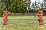 Vaikų žaidimų aikštelė, supynės - 5