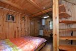 Nr.3 Dviejų kambarių penkiavietis namelis su virtuvėle, pavėsine - 7