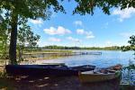 Stovyklavietė ant ežero kranto - 12