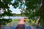 Stovyklavietė ant ežero kranto - 29