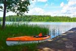 Stovyklavietė ant ežero kranto - 39