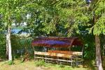 Stovyklavietė ant ežero kranto - 21