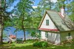 6 vietų namelis ant ežero kranto - 1