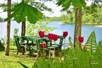 6 vietų namelis ant ežero kranto - 3