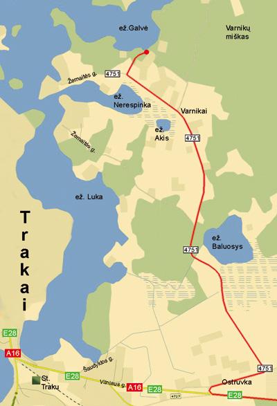 Pirtis Medaus pirtelė Trakuose prie Skaisčio ežero